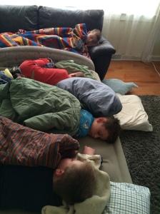Last Sleepovers