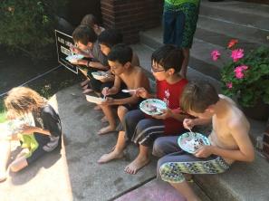 A nine year olds birthday fest