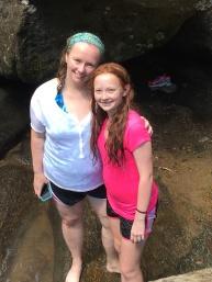 Kate and Julia (Den Bleyker vacation in North Carolina)