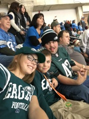 My Eagles fans at Ford Field